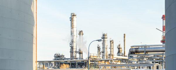 Usine de gaz naturel